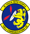 100th Communications Squadron patch
