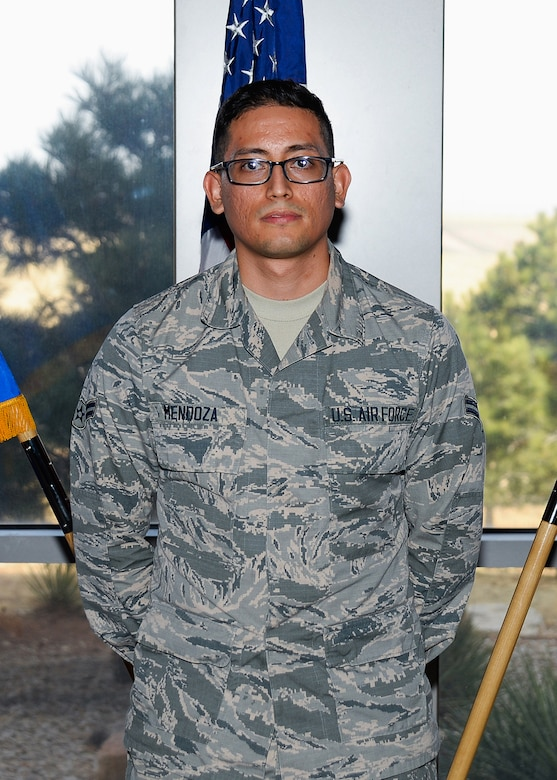 Airman 1st Class Rodolfo Mendoza, 50th Space Communications Squadron