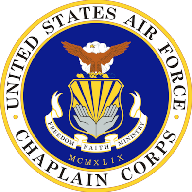 The United States Air Force Chaplain Corps' mission is to provide support to members of Malmstrom Air Force Base. The Chaplain Corps here make a continuous effort to visit the Airmen who post out to the missile alert facility. (U.S. Air Force graphic)