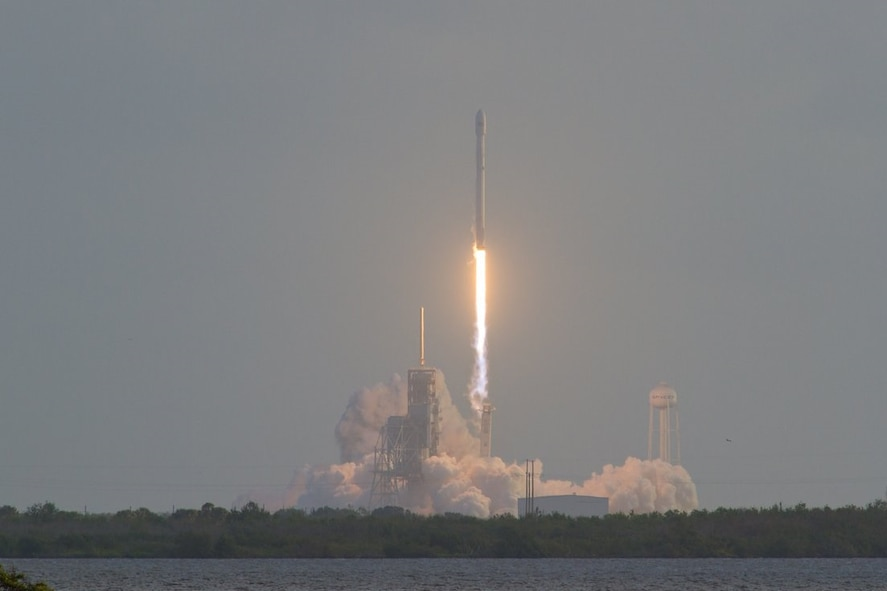 The 45th Space Wing supported SpaceX's successful launch of the NROL-76 spacecraft aboard a Falcon 9 rocket from Space Launch Complex 39A at NASA's Kennedy Space Center May 1 at 7:15 a.m. ET. This launch was SpaceX's first for the National Reconnaissance Office. (Photo by Michael Seeley)