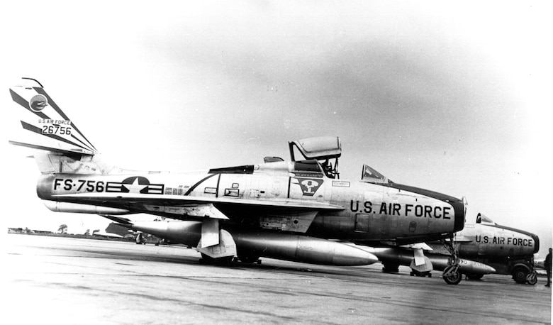 Republic F-84 Thunderjet fighter (Courtesy photo)