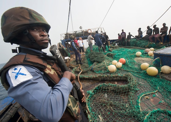 In February 2016, collaboration among four West African nations, with assistance from the U.S. and France,