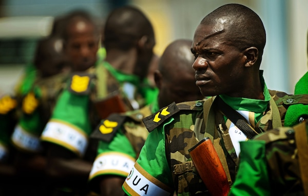 Rwandan soldiers deploy to the Central African Republic to aid French and African Union operations against militants.