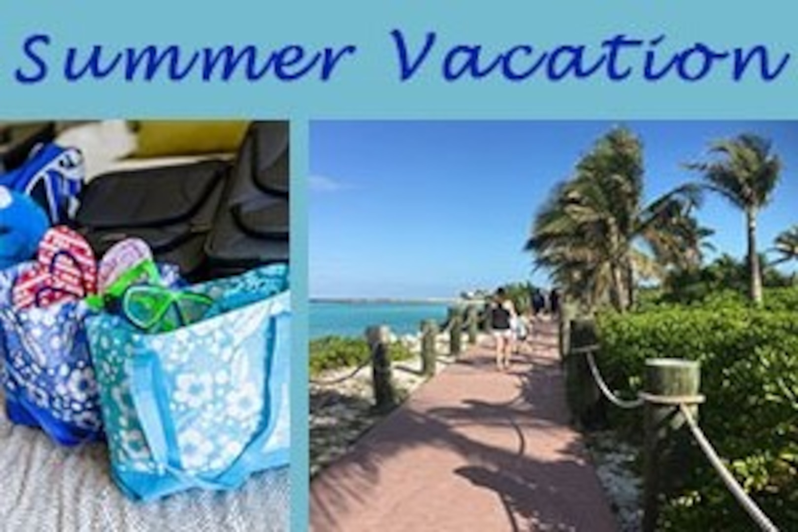Summer is here and you know what that means: vacation. Here is all the information you need from safety tips and vacation reminders to discount options for your summer adventures.