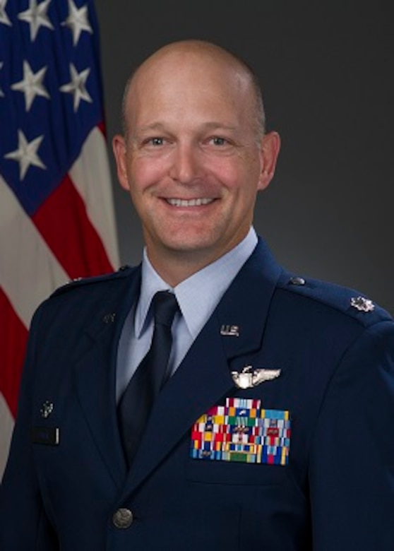 Lt. Col. Blaine Baker, 82st Contingency Response Squadron commander, shares his thoughts on leading and empowering Airmen. (U.S. Air Force photo)