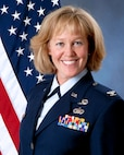 Air Force official photo of Col. Megan Erickson, the 149th Mission Support Group commander