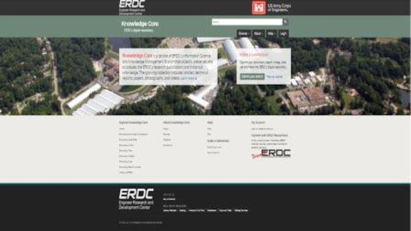 ERDC Knowledge Core uses two levels of digital preservation: bit preservation and functional preservation.  Bit preservation ensures that a file remains exactly the same over time, while functional preservation goes further.  The file does change over time so that the material continues to be immediately usable in the same way it was originally while the digital formats evolve over time.