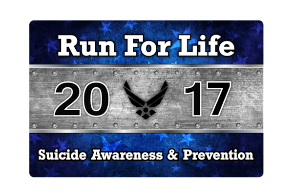 The 59th Medical Wing will host its fifth annual JBSA 5K Run for Life event May 20 at Heritage Park on Joint Base San Antonio-Randolph; check-in opens at 7:30 a.m. The event brings awareness and prevention of suicide within the military community--not only active duty, but dependents as well.