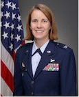 Col. Jennie R. Johnson poses for an official photo (U.S. Air Force Photo)