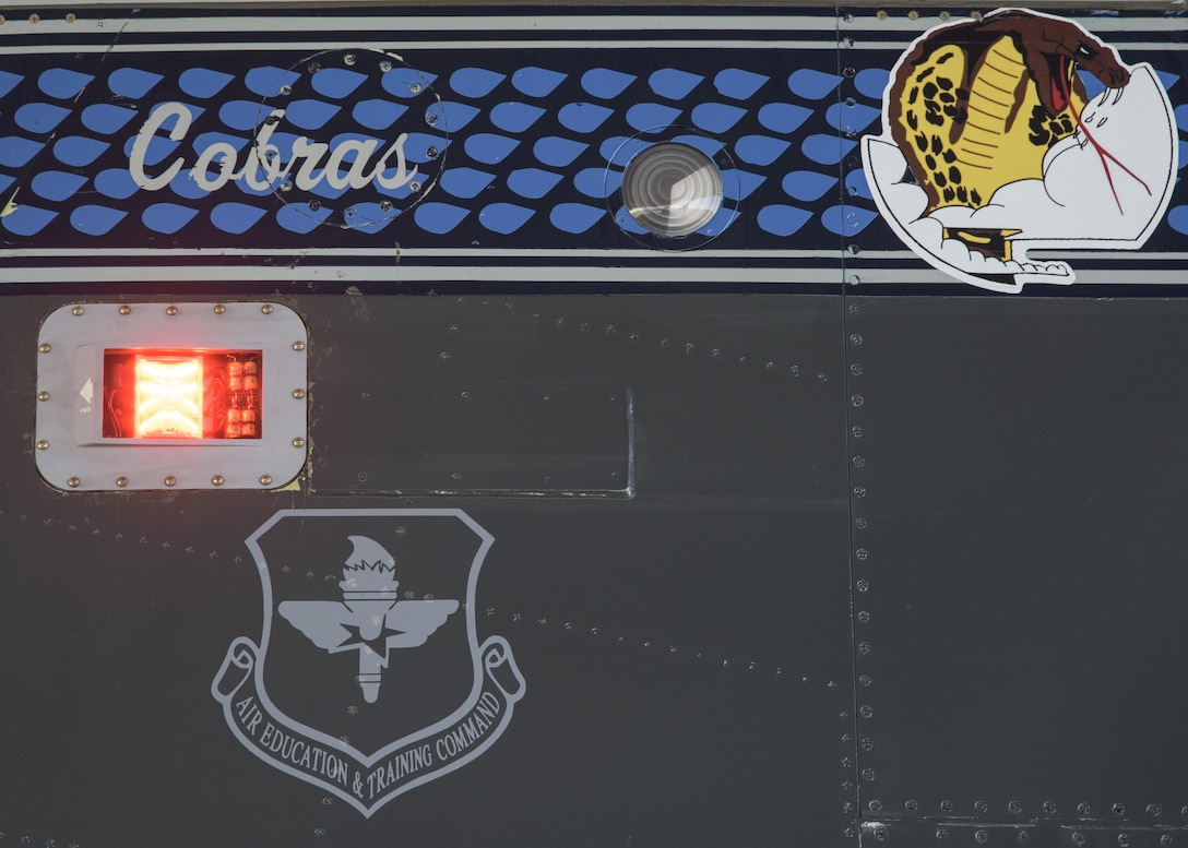 The 39th Flying Training Squadron is part of the 340th Flying Training Group and is the reserve associate to the 12th Flying Training Wing at Joint Base San Antonio-Randolph. The 39th FTS operates the T-6 Texan II, T-1 A Jayhawk and T-38 C Talon to conduct pilot instructor training. (U.S. Air Force photo by Senior Airman Stormy Archer)