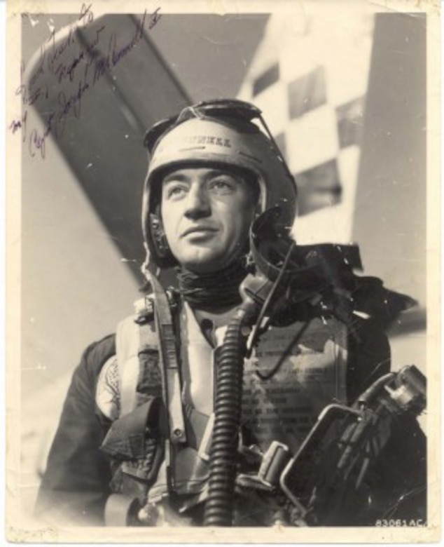 Triple Ace Capt. Joe McConnell Jr. with the 51st FIW. (Courtesy photo)