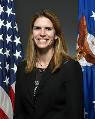 Miller, Jennifer, SES official bio photo, Air Force portrait studio, April 11, 2017, Pentagon, Va. (U.S. Air Force photo/Wayne Clark)