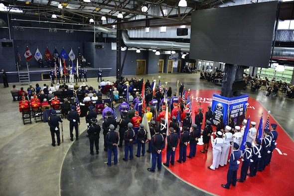 The 57th Annual Western New York Armed Forces Week Opening Ceremony took place May 7, 2017 at Riverworks in Buffalo, N.Y. In recognition of this 57th anniversary, the eight counties of WNY proclaim Sunday, May 7th through Saturday, May 13th 2017 Western New York Armed Forces Week. (U.S. Air Force photo by Tech. Sgt. Stephanie Sawyer)