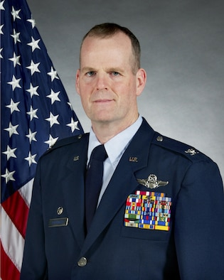 Official photo of Col. Thomas P. Coppinger, Vice Wing Commander, 108th Wing, Joint Base McGuire-Dix-Lakehurst, NJ (U.S. Air National Guard Photo by Tech. Sgt. Carl Clegg/Released)