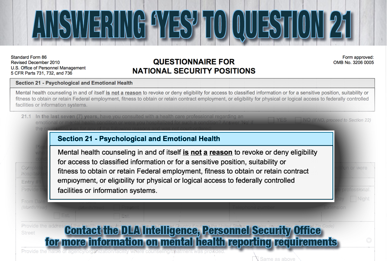 It's okay to answer Question 21 > Defense Logistics Agency > News