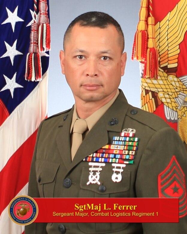 Sergeant Major, Combat Logistics Regiment 1