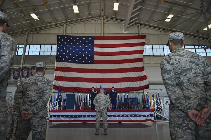 Air Commandos attend the 492nd Special Operations Wing activation ceremony at Hurlburt Field, May 10, 2017. The Air Force Special Operations Air Warfare Center was inactivated and the 492nd SOW was activated during the ceremony. Simultaneously, the 492nd Special Operations Group and the 492nd Special Operations Training Group were activated under the 492nd SOW. (U.S. Air Force photo by Airman 1st Class Joseph Pick)