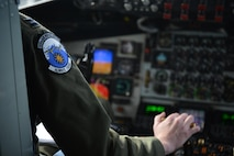 EIELSON AIR FORCE BASE, Alaska – U.S. Air Force Capt. Ryan Singleton, a 909th Air Refueling Squadron pilot assigned to Kadena Air Base, Japan, takes off on a KC-135T Stratotanker from Fairchild Air Force Base, Wash., May 9, 2017, during NORTHERN EDGE 2017 (NE17), at Eielson Air Force Base, Alaska. NE17 is Alaska's premier joint training exercise designed to practice operations, techniques and procedures as well as enhance interoperability among the services. Thousands of participants from all the services, Airmen, Soldiers, Sailors, Marines and Coast Guardsmen from active duty, Reserve and National Guard units are involved. (U.S. Air Force photo/Staff Sgt. Ashley Nicole Taylor)
