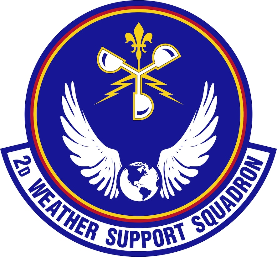 2d Weather Support Squadron Patch
