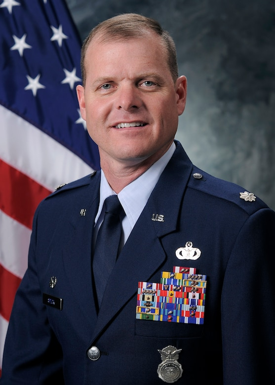 Lt. Col. Michael Speck, 50th Security Forces Squadron commander. (Courtesy photo)