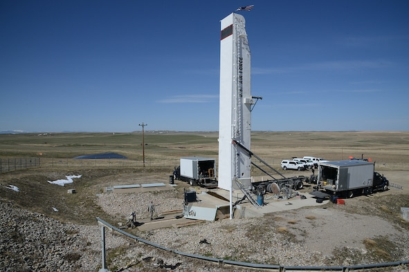 A launch facility operated by Malmstrom Air Force Base is shown April 13, 2017. The 583rd Missile Maintenance Squadron, part of Air Force Materiel Command, completed programmed depot maintenance on a launch facility at Malmstrom, a first-ever for the intercontinental ballistic missile weapons system. (U.S. Air Force photo/Staff Sgt. Delia Marchick)