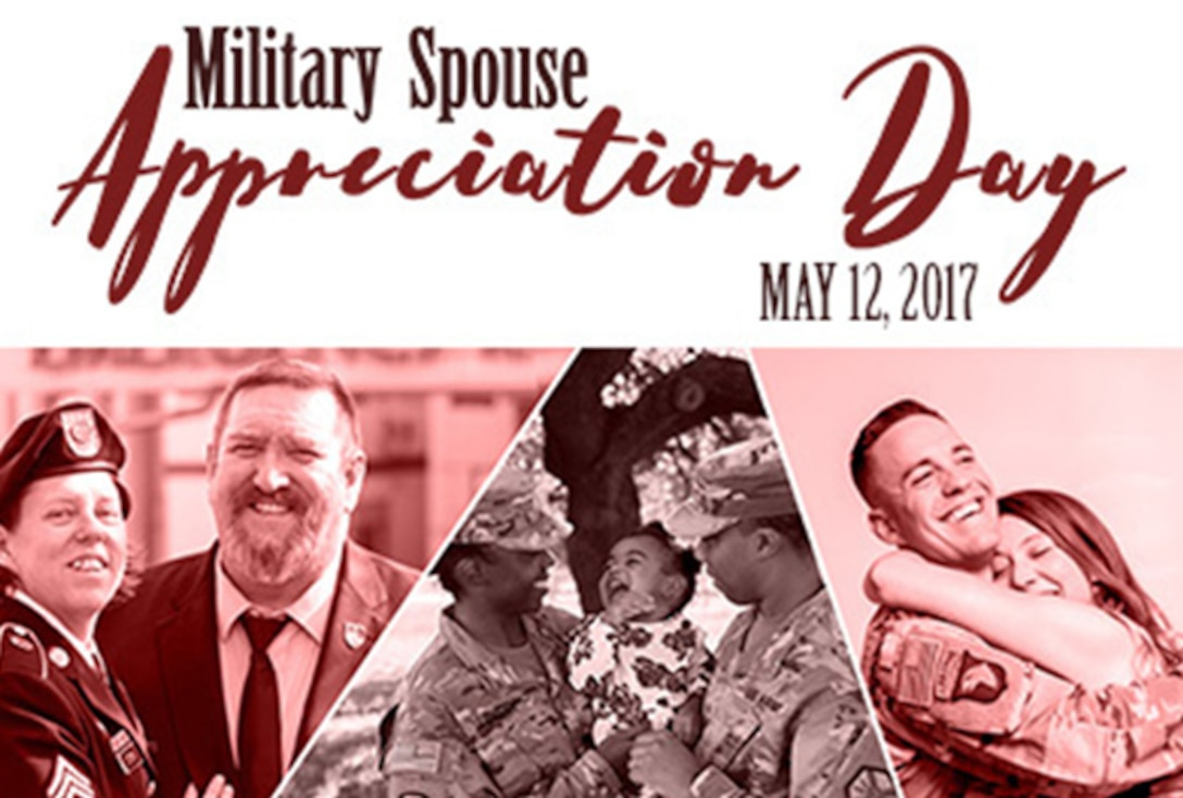 In 1984, President Ronald Reagan signed the first proclamation officially recognizing Military Spouse Appreciation Day. The Department of Defense then standardized the date by declaring the Friday before Mother's Day every year as Military Spouse Appreciation Day. In 1999, Congress officially made Military Spouse Appreciation Day a part of National Military Appreciation Month.