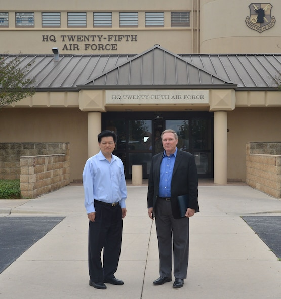Dr. Chow and Dr. Dahm (SAB Spring Board FY17)