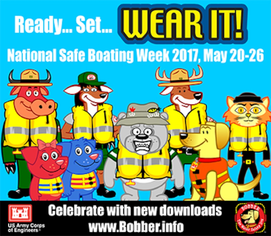 National Safe Boating Week is May 20-26, 2017!