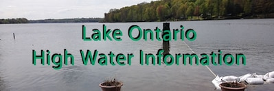 Lake Ontario High Water