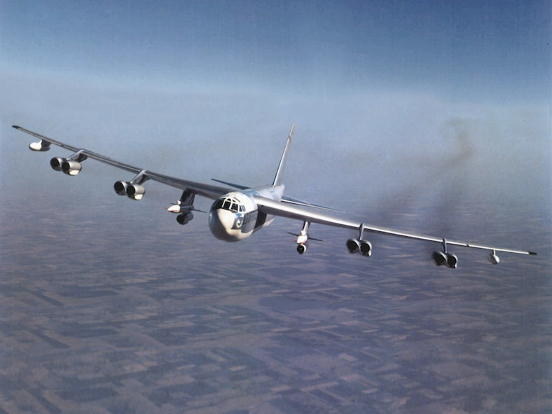 "The AGM-28 ""Hound Dog"" missile was designed exclusively for carriage under the wings of the B-52 Stratofortress bomber. (Courtesy photo)"