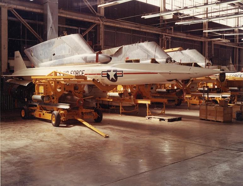 """GAM-77 """"Hound Dog"""" missile, 1961. (Courtesy photo)"""