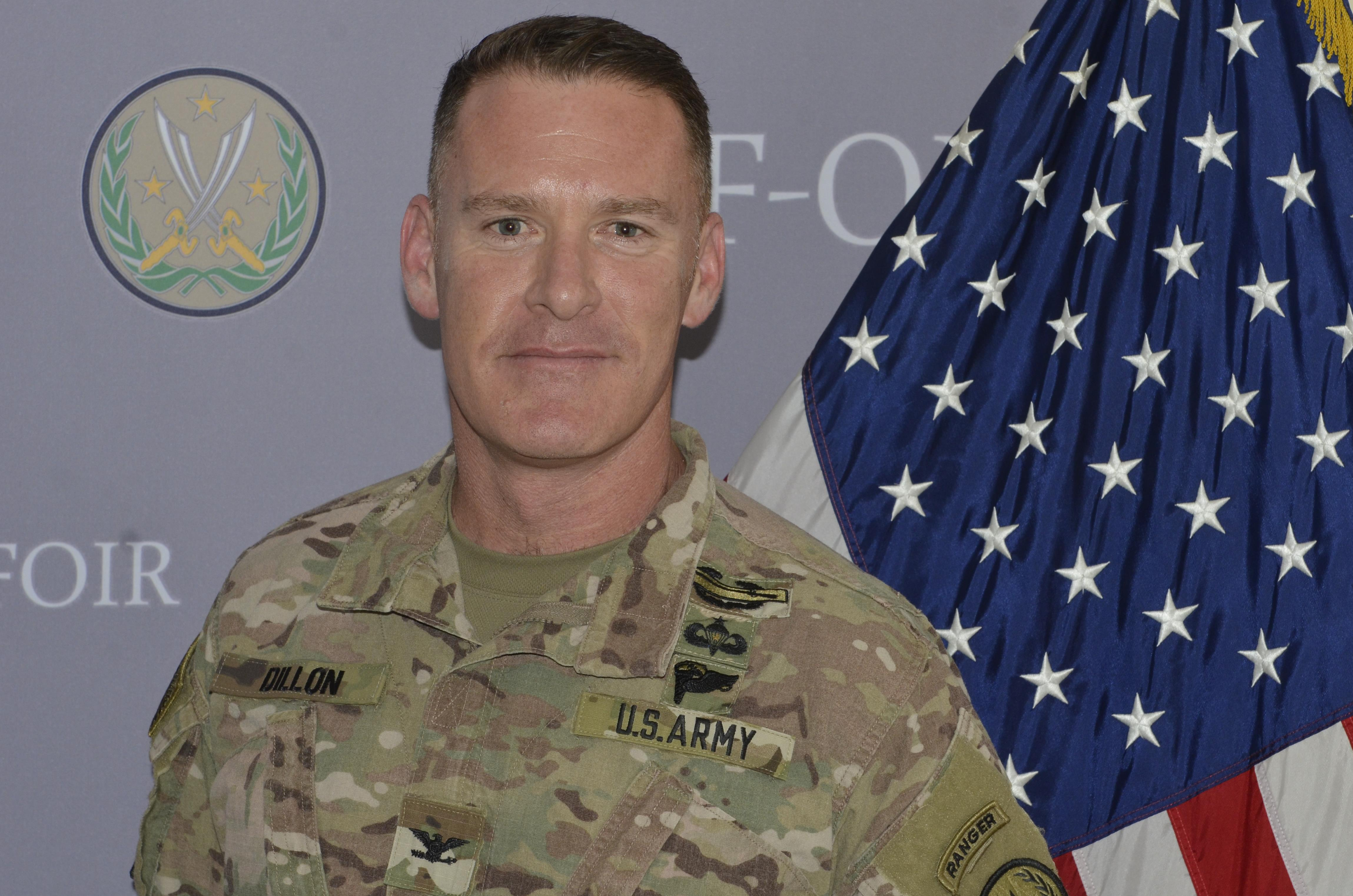 Image result for Army Col. Ryan S. Dillon