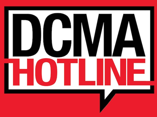 Defense Contract Management Agency launched the DCMA Hotline — 844-551-2067 — to enhance accountability practices and improve incident response. The initiative aligns with calls to improve government transparency. (DCMA graphic by Stephen Hickok)