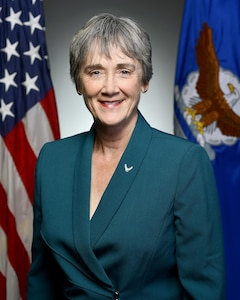 Official portrait of Hon. Heather Wilson, the 24th Secretary of the Air Force, taken in the Air Force portrait studio, May 15, 2017, Pentagon. (U.S. Air Force photo/Scott M. Ash)