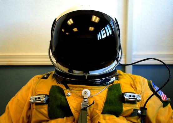 A U-2 Dragon lady pilot pre-breaths pure Oxygen before takeoff during exercise Northern Edge 17 at Joint Base Elmendorf-Richardson, Alaska, May 9, 2017. Northern Edge is a biennial joint training exercise involving approximately 6,000 personnel and 200 fixed-wing aircraft, and dates back to 1975. (U.S. Air Force photo/Staff Sgt. Jeffrey Schultze)