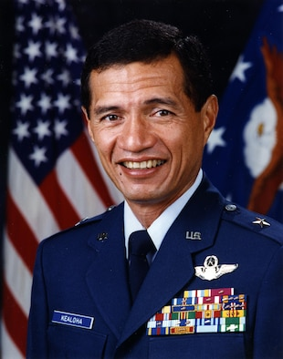 Brigadier General Dwight M. Kealoha grew up in Hawaii; and graduated from the University of Hawaii in 1966. After pilot and survival training in the Air Force, he twice deployed to Southeast Asia between 1968 and 1970.