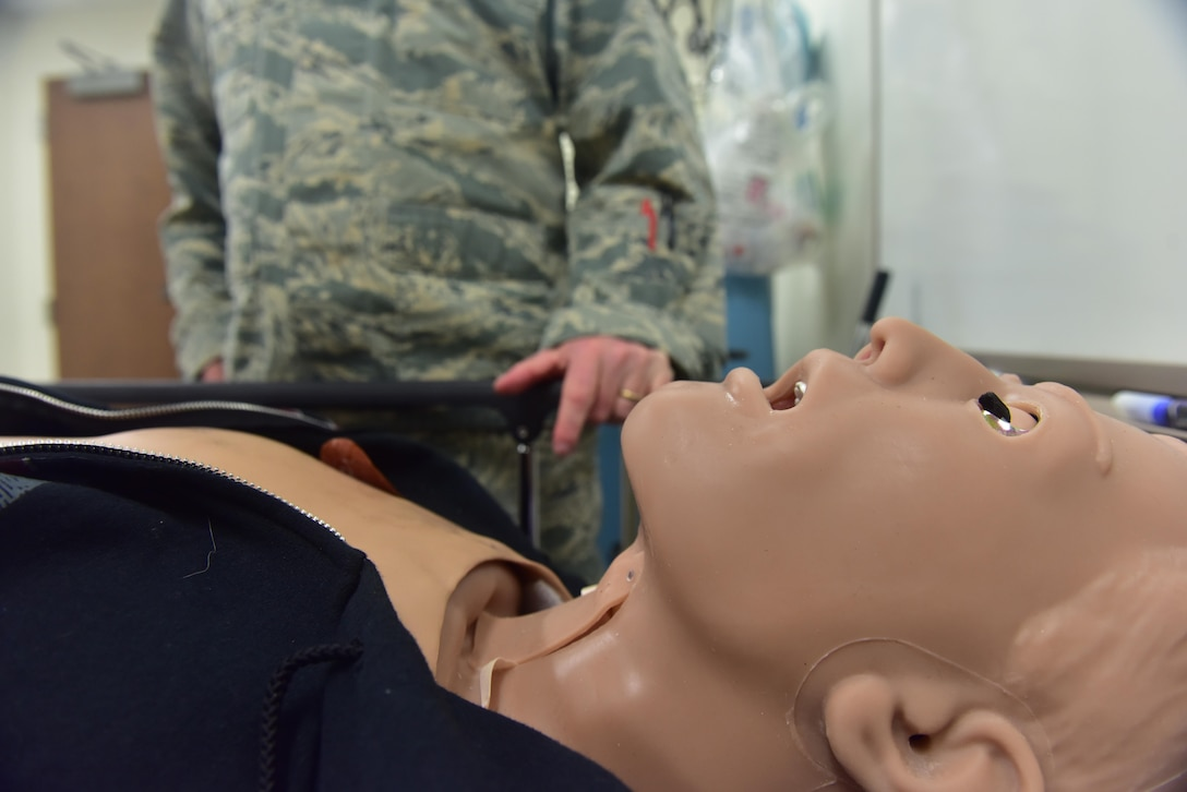 Members of Team Whiteman assigned to the 509th Medical Group are featured during National Nurse's Week at Whiteman Air Force Base, Mo., May 9, 2017. From May 6 to 12, Whiteman is highlighting officer, enlisted and civilian medical service providers who readily provide medicine, health education and care to patients. Medical technicians support various health care career fields and all work together to provide vital treatment to those in need.