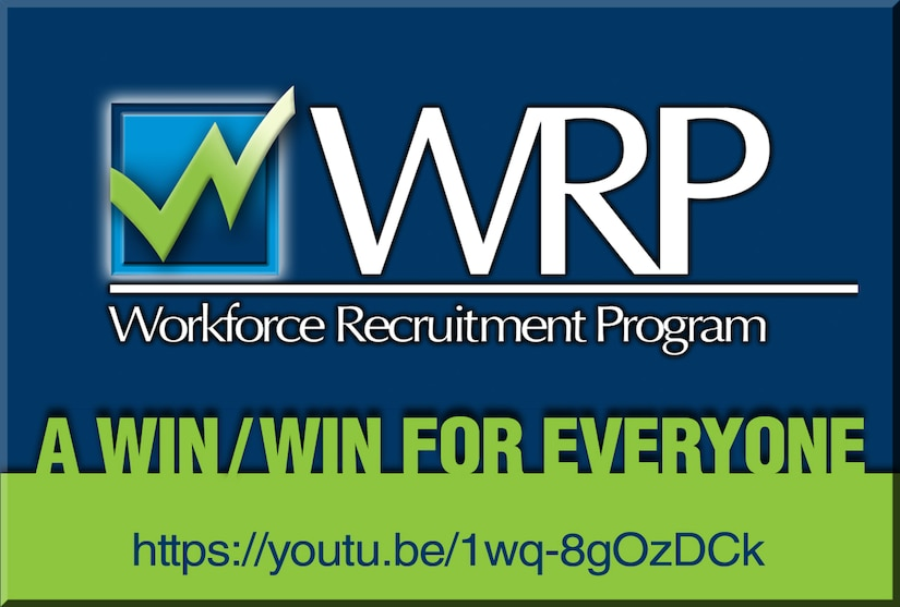 The Workforce Recruitment Program brings college students and recent graduates with disabilities to DLA so the agency can benefit from their talent. Several WRP employees and those close to the program share their experiences with the program in a video.