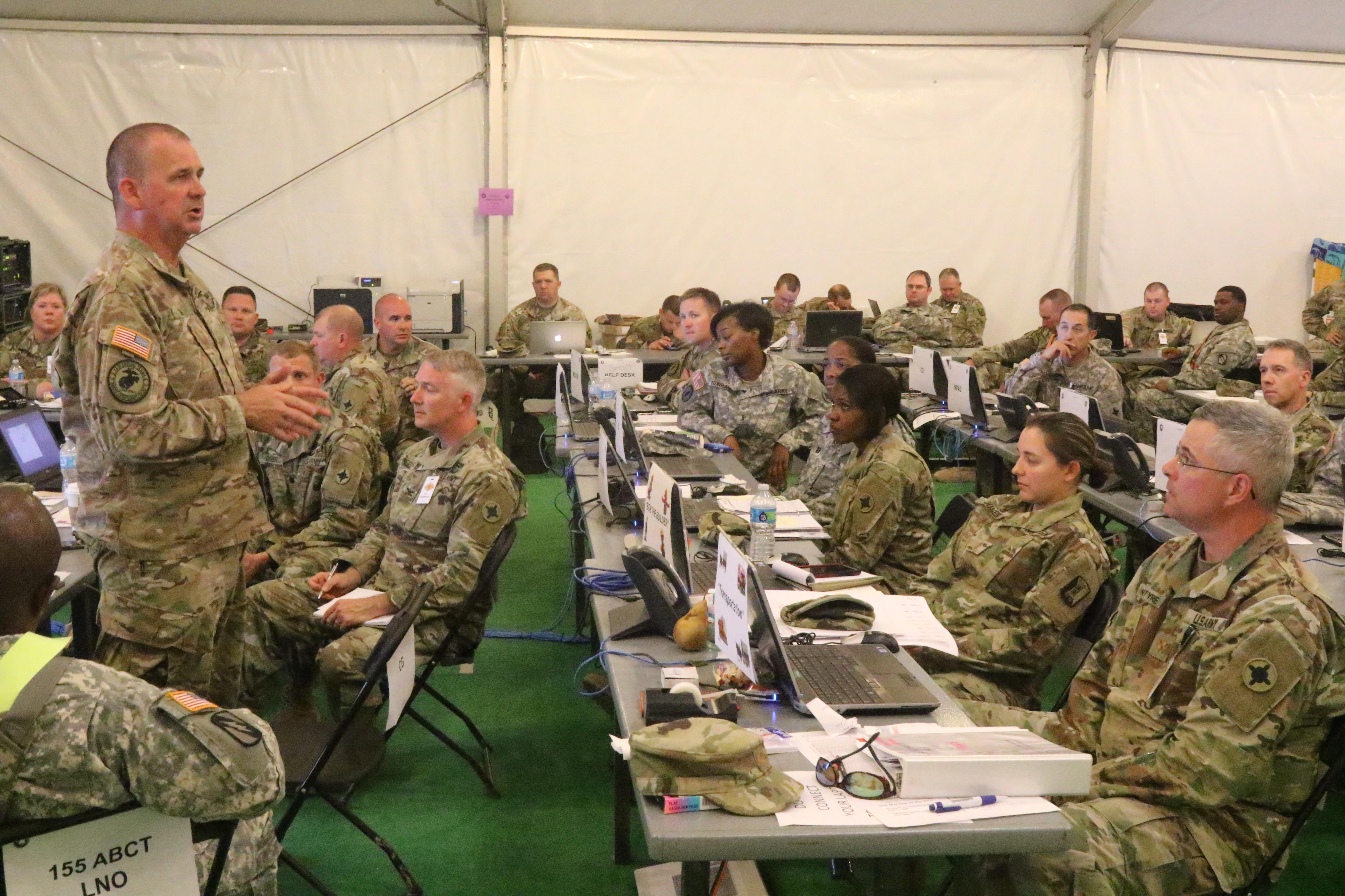 Mississippi S 184th Sustainment Command Leads Joint Task