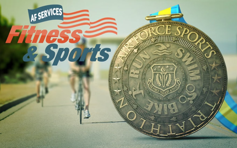 Air Force Sports Triathlon (U.S. Air Force graphic/Gregory Hand)