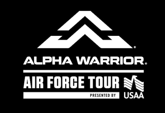 The Alpha Warrior Tour is scheduled to arrive at McConnell May 26-27. The tour is stopping by several Air Force installations across the country to challenge participants with events that bring a different approach to fitness. (Courtesy graphic)