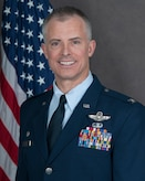 Official photo of Col Brian D Turner, 140th Wing Commander.
