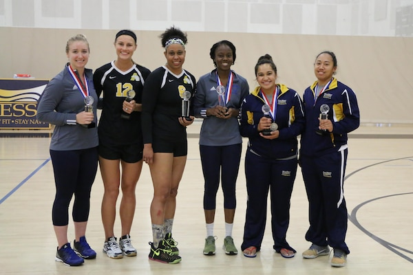 Your 2017 U.S. Armed Forces Women's Volleyball All-Tournament Team.  Selections made immediately following the last match of the 2017 Armed Forces Women's Volleyball Championship at Naval Station Mayport, Florida held 17-21 May. 