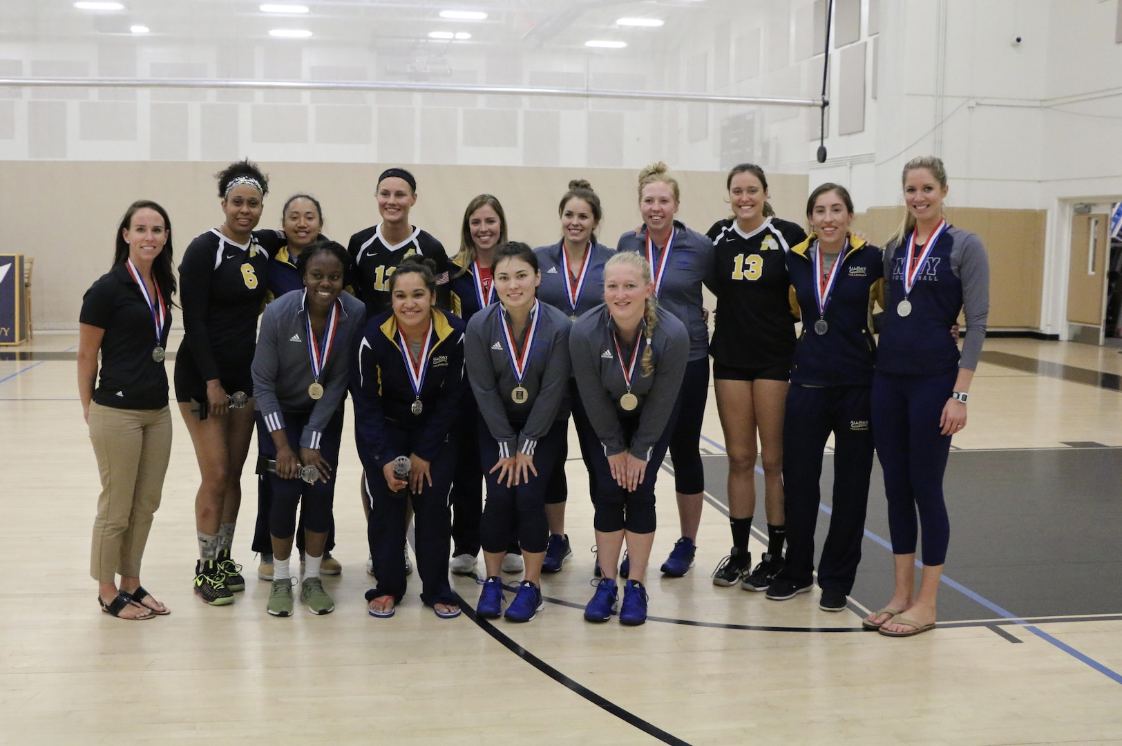 Your 2017 U.S. Armed Forces Women's Volleyball Team.  Selections made immediately following the last match of the 2017 Armed Forces Women's Volleyball Championship at Naval Station Mayport, Florida held 17-21 May.  Team members include: