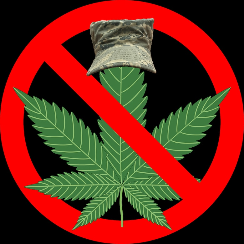 Florida voters approved an amendment to legalize the use of marijuana for medicinal purposes, Nov. 8, 2016. Service members are subject to the Uniform Code of Military Justice and Title 10 of the United States Code, which consider marijuana use or possession to be a crime regardless of state laws. (U.S. Air Force graphic by Staff Sgt. Jeff Parkinson)