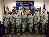 79th Medical Wing's Pentagon Flight Medicine Clinic staff, May 2017. (Courtesy photo)