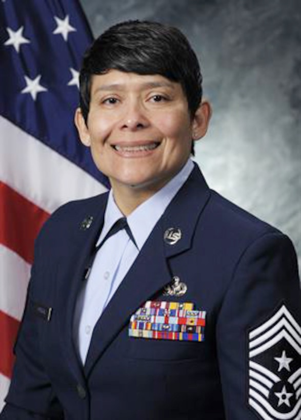 Chief Master Sergeant Imelda B. Johnson is the Command Chief Master Sergeant to the Commander of the 94th Airlift Wing, Dobbins Air Reserve Base, Georgia.