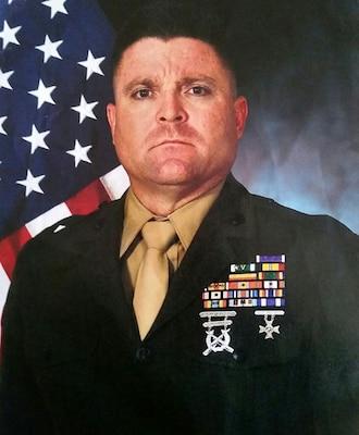 First Sergeant, Oscar Battery, 5th Battalion, 14th Marine Regiment