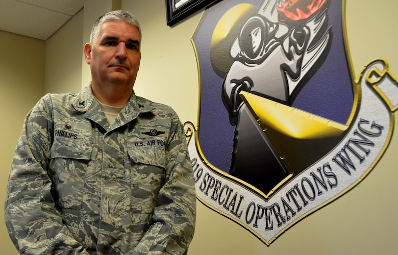 Col. James M. Phillips, 919th Special Operations Wing commander, wishes Citizen Air Commandos from Duke Field, service members and families past and present, and Americans all over the globe, a safe and enjoyable Memorial Day. The 919th SOW provides special operations forces in support of warfighting commands around the globe. (U.S. Air Force photo/Dan Neely)