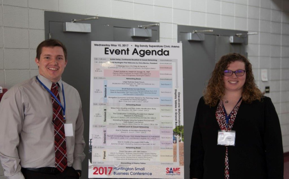 Two of our volunteers, Natasha Napier and Ryan Caudill, were on hand to welcome everyone to the 4th Annual Huntington Small Business Conference--Thanks for lending a hand!
